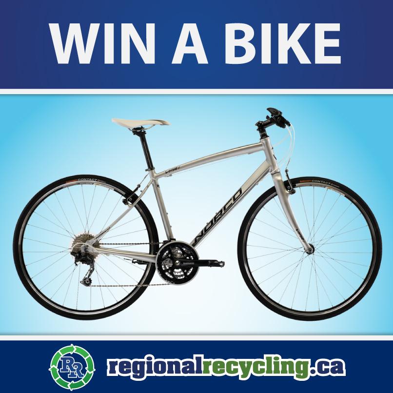 Regional Recycling 2016 Win a Bike