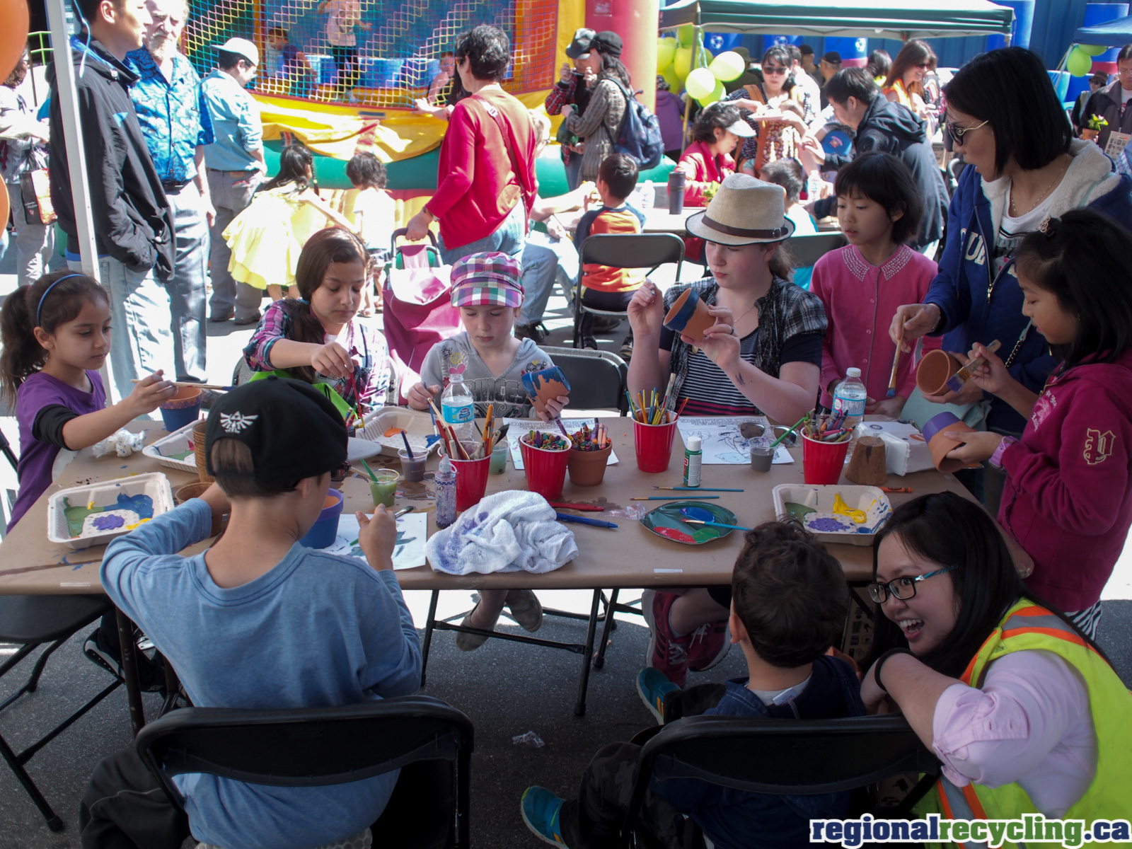 Regional Recycling Burnaby | 2016 Earth Day | Recycling Education