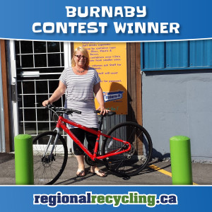 Burnaby 2016 WinABike Winners | Regional Recycling