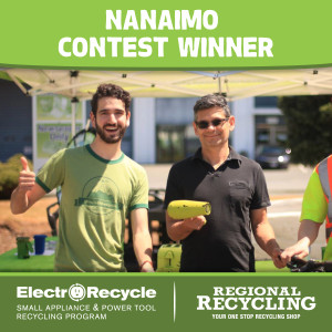 Nanaimo Win a Bike Winner | Regional Recycling