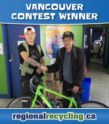 Regional Recycling 2016 WinABike Winners