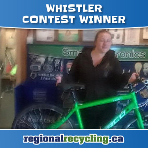 Whistler 2016 WinABike Winners | Regional Recycling