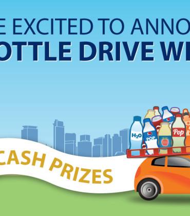 2015 Bottle Drive  Winners
