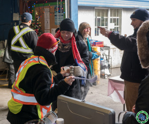 Gift of Warmth huge success   Regional Recycling Vancouver 2016