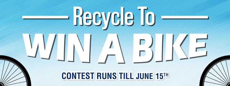 Recycle to Win a Bike 2018