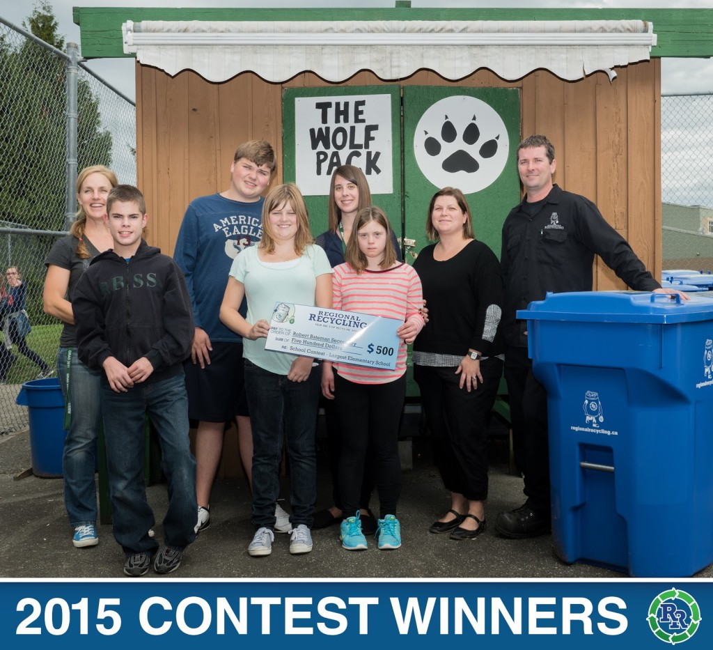 Robert Bateman Secondary School Recycling Team