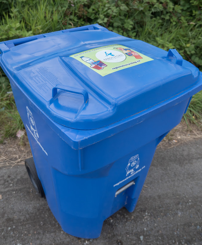 Regional Recycling Tote for Schools