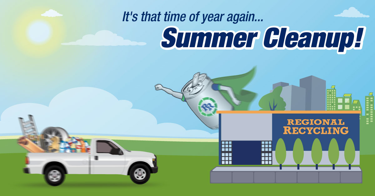 Summer Recycling Tips & Hints Cleanup and Recycling ideas