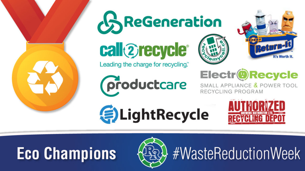 #wasteredcutionweek Waste Reduction Week 2017 Wednesday-Eco-Champions