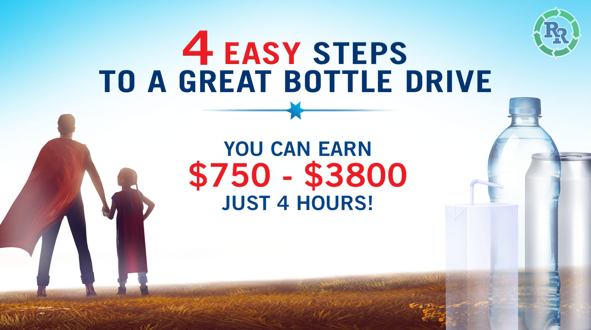 Regional Recycling - 4 easy steps to bottle drive success