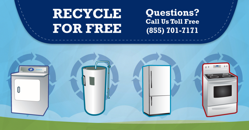 Can I recycle my Appliances? Yes, At Regional Recycling!