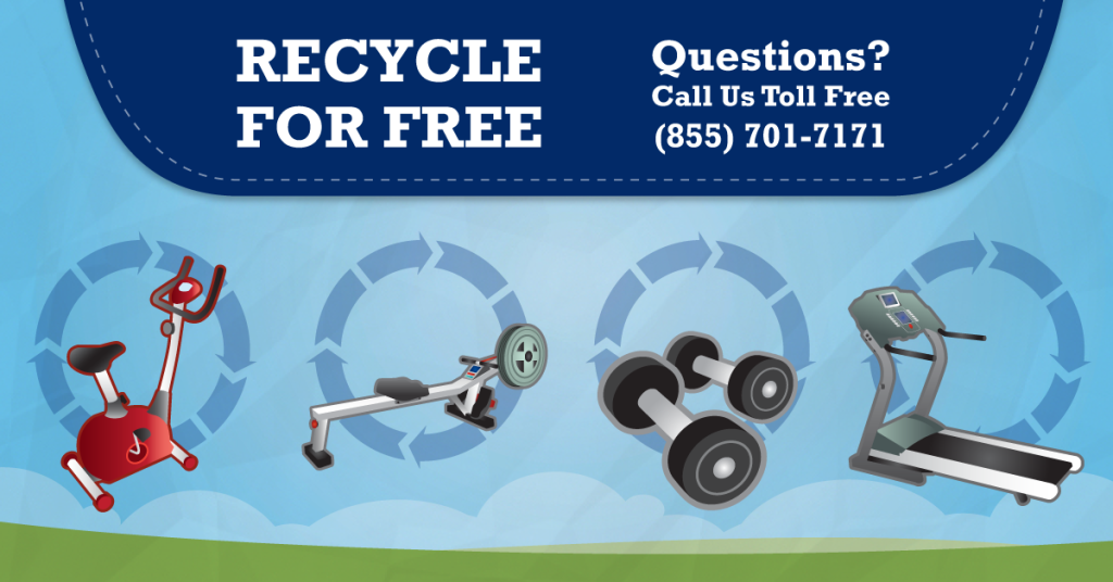 Can I recycle my Exercise Equipment and Sports stuff? Yes, at Regional Recycling!