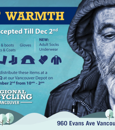 3rd Annual Gift of Warmth!