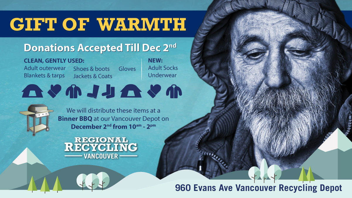 Regional Recycling Gift of Warmth