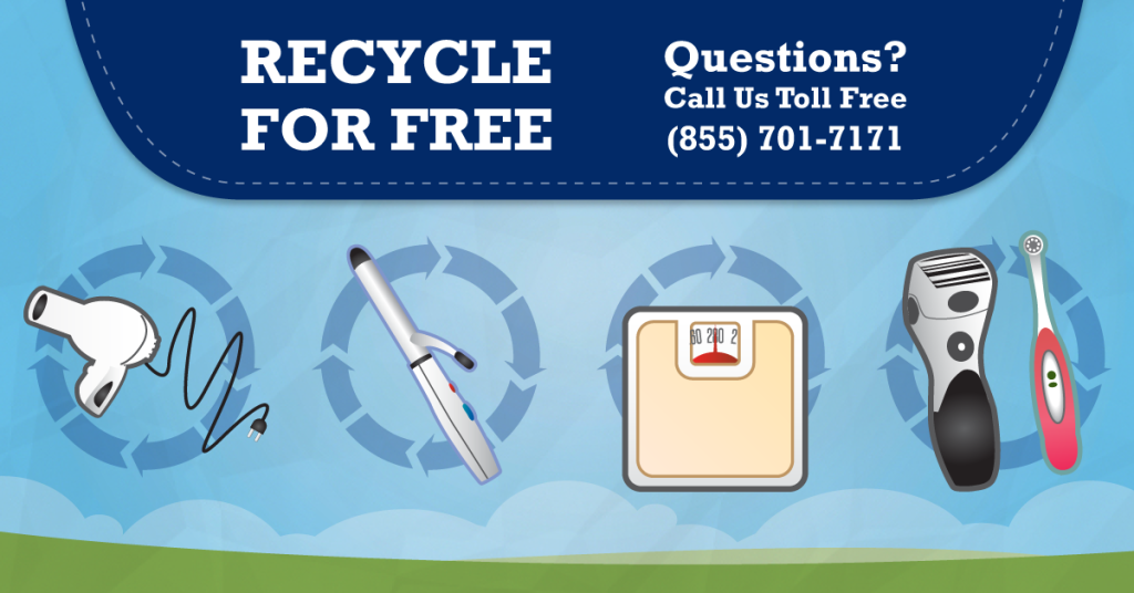 Can I recycle my scale, electric toothbrush & other Personal Care items? Yes, At Regional Recycling!