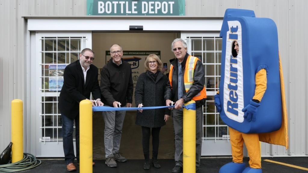 Whistler Recycling Center Ribbon Cutting at Regional Recycling