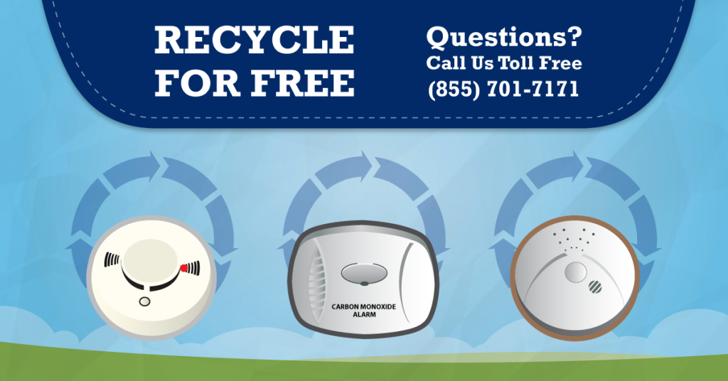 Can I recycle my Smoke Alarm - Yes at Regional Recycling!