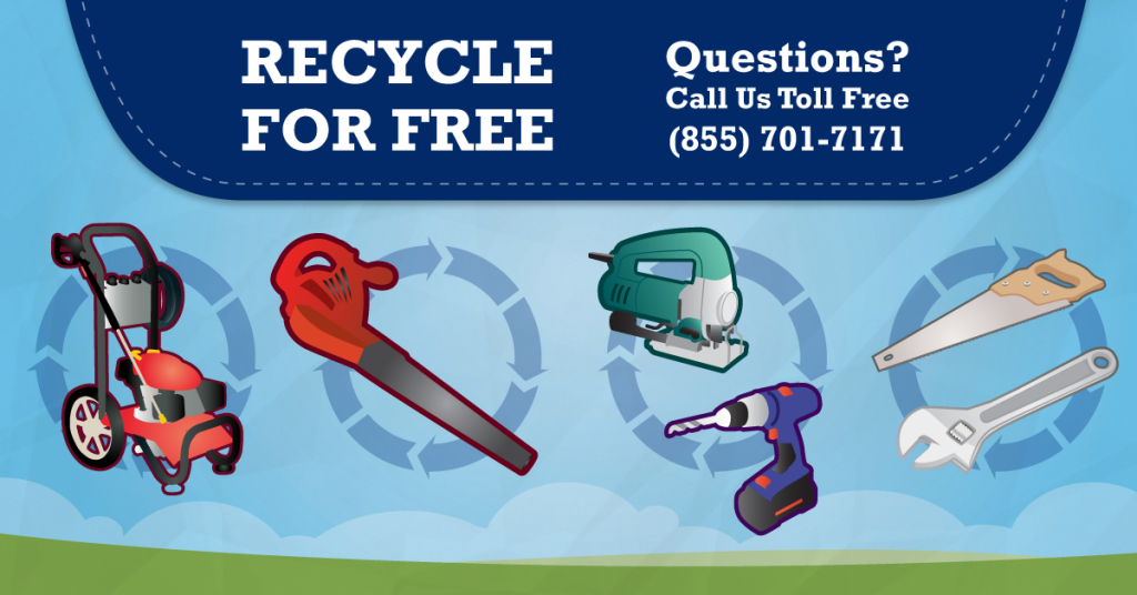 Can I Recycle my Tools and outdoor equipment? Yes, at Regional Recycling!