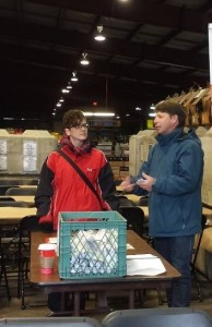 Regional Recycling annual gift of warmth 2015