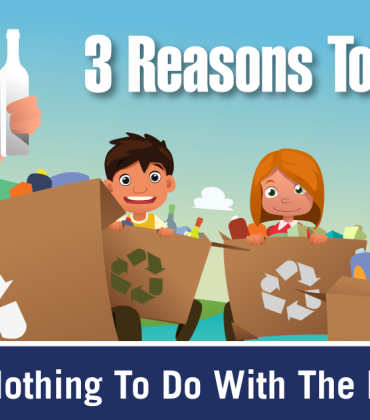 3 Reasons to Recycle (that have nothing to do with the environment)