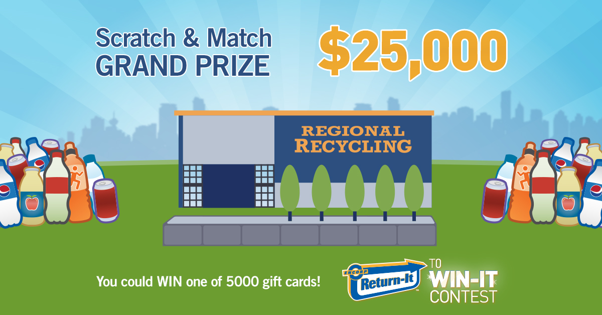encorp return it to win it contest at regional recycling