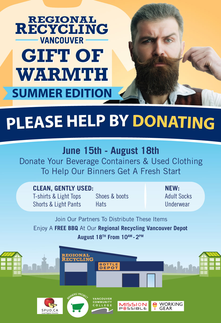 Gift of Warmth - Summer Edition - Regional Recycling