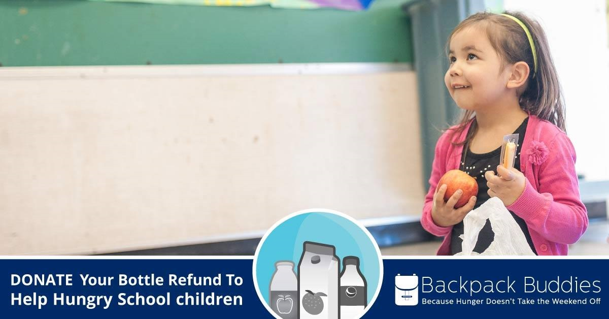 Backpack Buddies - Regional Recycling - weekend school food program