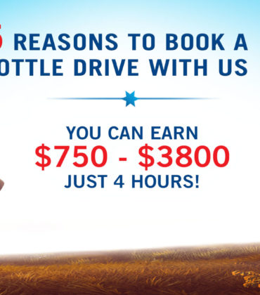 5 Reasons to book your next bottle drive with Regional Recycling!