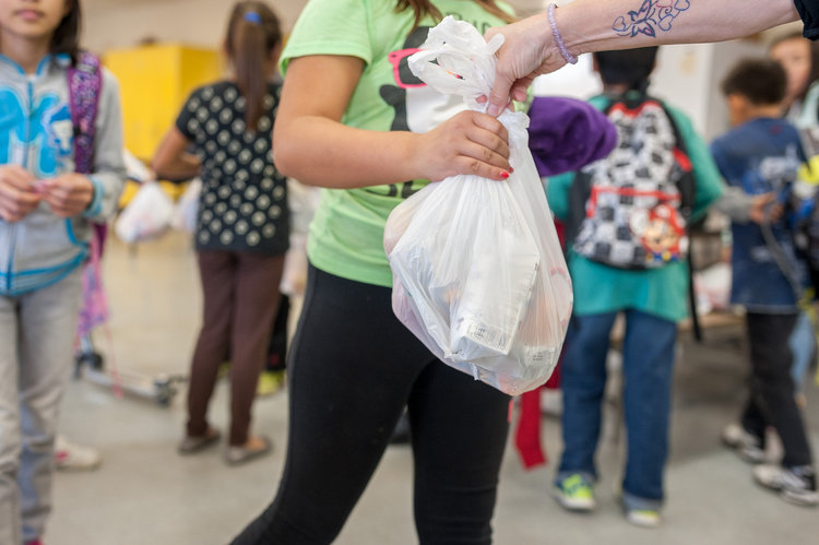 BAckpack buddies is regional recycling's Feb 2020 Charity of the month